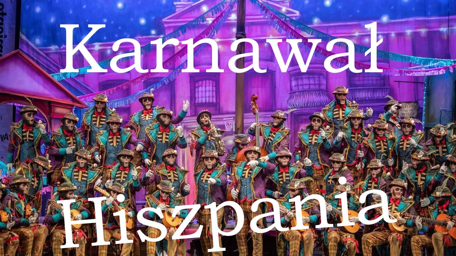 Karnawal-hiszpania